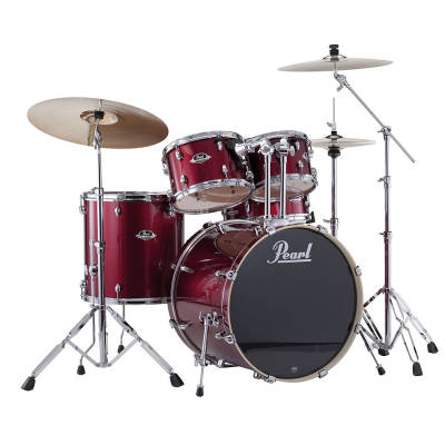 Export EXX 5 Piece Kit w/Hardware & Cymbals - Red Wine