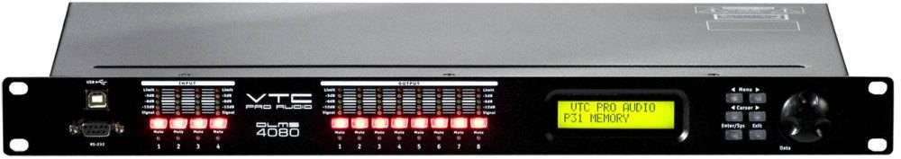 vtc pro audio digital loudspeaker management system long mcquade musical instruments