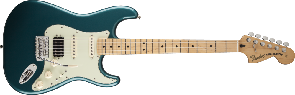 fender deluxe lone star stratocaster maple fingerboard ocean turquoise long mcquade. Black Bedroom Furniture Sets. Home Design Ideas