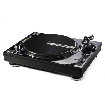 Digital Turntable w/Direct Drive & Slipmats