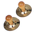 Rhythm Band - Finger Cymbals - Knobs Pair
