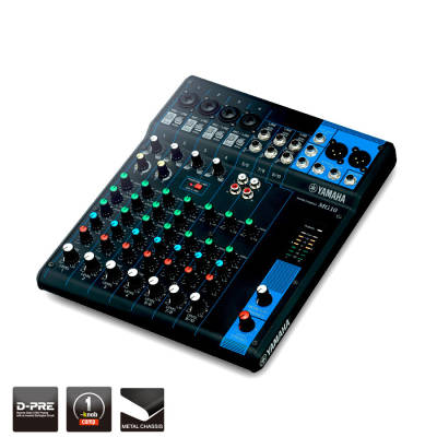10 Channel MG Series Mixer