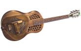 Regal - Brass Metal Body Resophonic Guitar