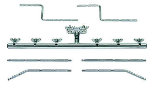 Mounting Bar with 6 Rods