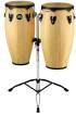 Meinl - Headliner Wood Congas 11 & 12 inch with Stand, Natural