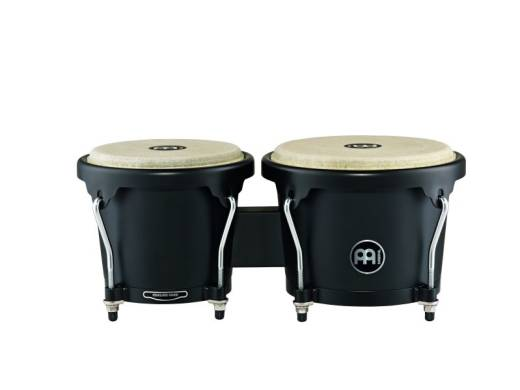 Headliner Wood Bongo 6 3/4 & 8 inch, Phantom Black