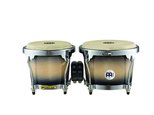 RAPC Bongos 6 3/4 & 8 inch, Black Maple Burst
