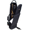 Protec - Straight Soprano Sax/Clarinet/Flute Combinaton Gig Bag - Black