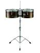 Meinl - Marathon Timbales 14 & 15 inch, Antique Finish