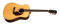 Dreadnought Walnut Acoustic - Gloss Top /Vine Headstock