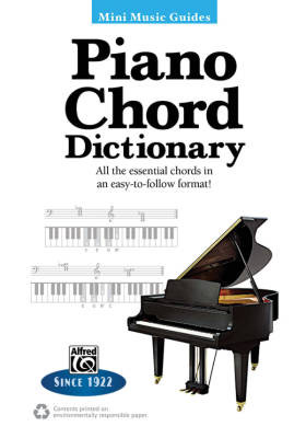 Mini Music Guides: Piano Chord Dictionary - Book
