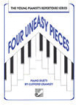 Frederick Harris Music Company - Four Uneasy Pieces - Crawley - Intermediate Piano Duets - Book