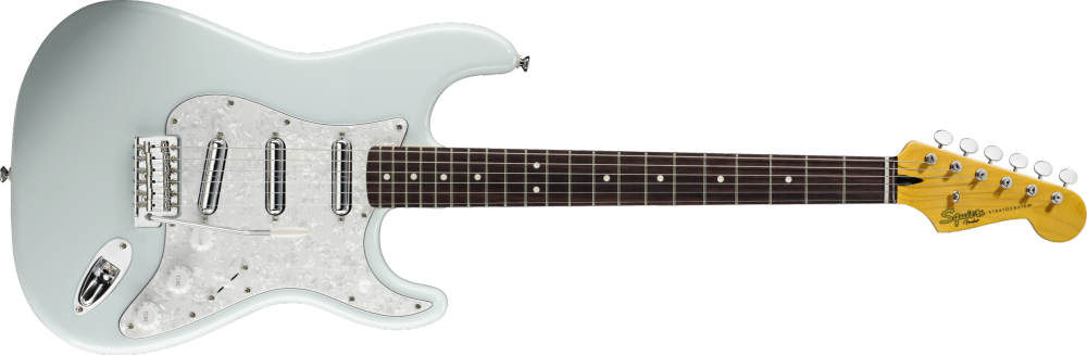 squier vintage modified surf stratocaster sonic blue long mcquade musical instruments. Black Bedroom Furniture Sets. Home Design Ideas