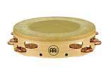 Meinl - Headed Artisan Edition Tambourine, 2 Row Hammered/Solid Bronze