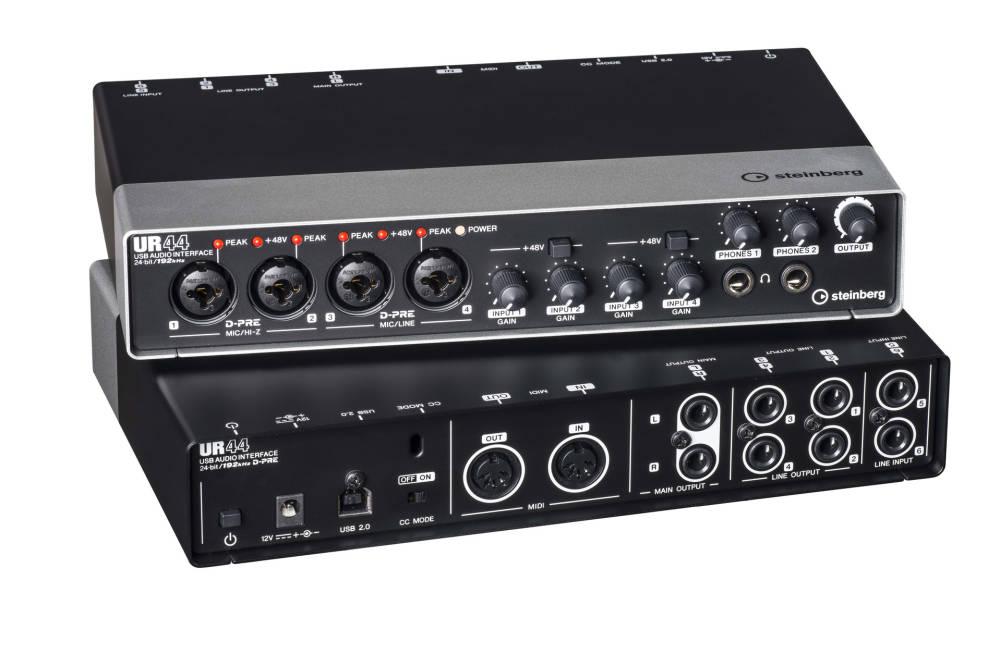 steinberg ur44 usb audio interface driver