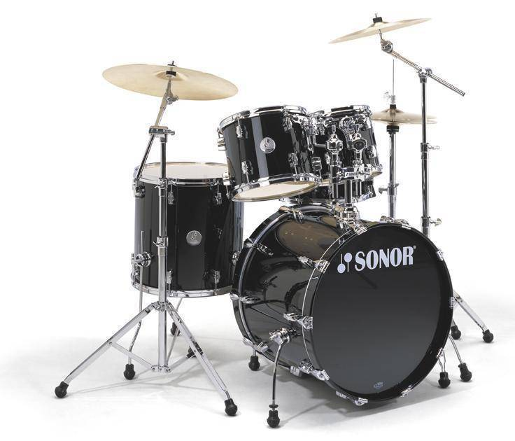 d969346bbb4d Sonor Force 1007 Stage 1 5-Piece Drum Kit With Hardware - Black ...