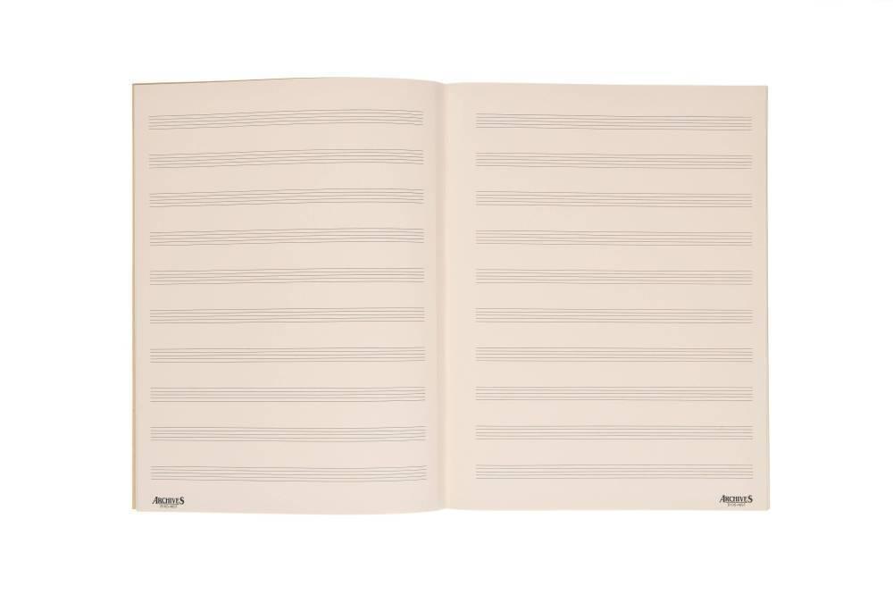 Manuscript Paper Book Manuscript Paper Book
