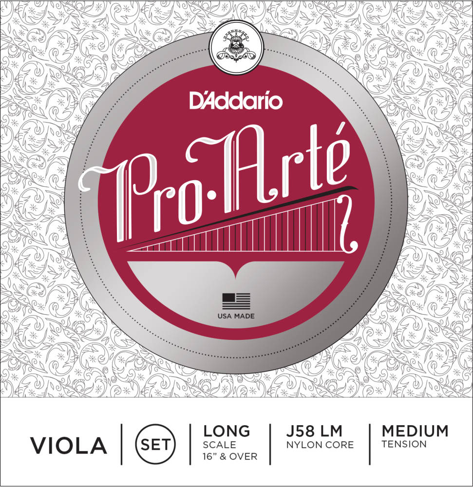 Medium Scale Medium Tension D/'Addario Kaplan Viola Single C String