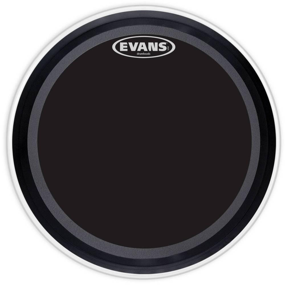 evans bd22emadonx evans emad onyx bass drum head 22 inch long mcquade musical instruments. Black Bedroom Furniture Sets. Home Design Ideas