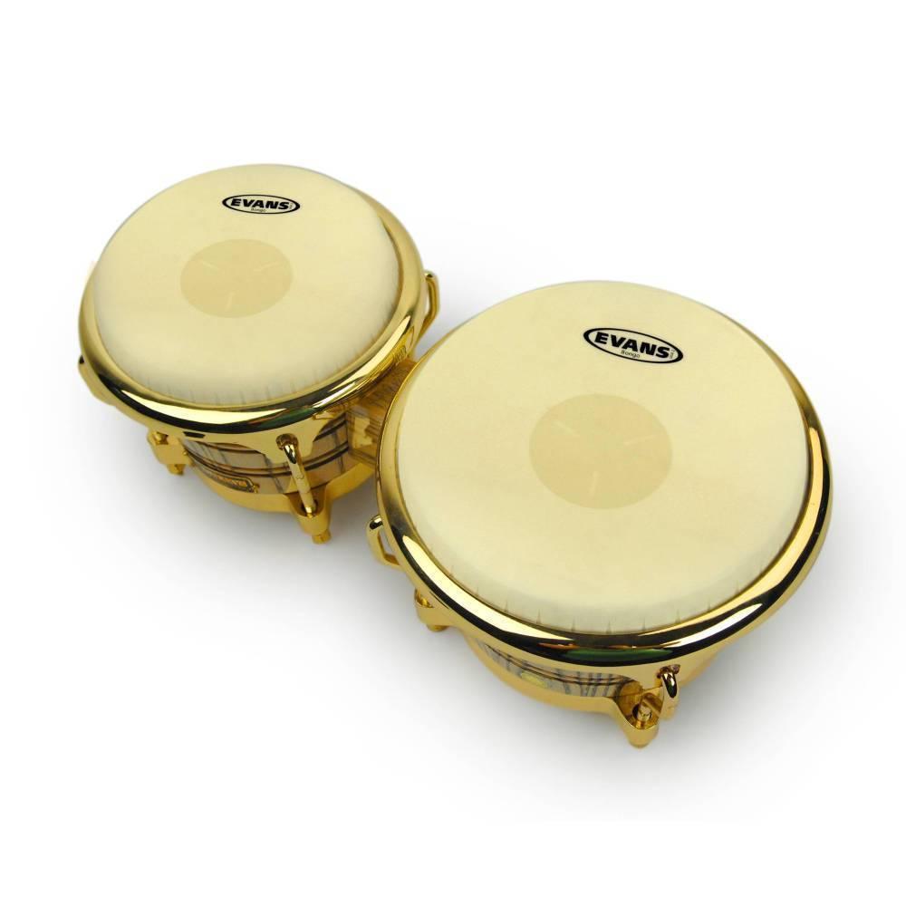 evans eb07 tri center bongo drum head 7 1 4 inch long mcquade musical instruments. Black Bedroom Furniture Sets. Home Design Ideas