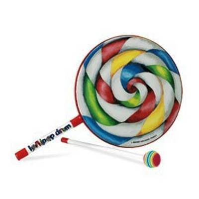 Lollipop Drum 8 Inch w/Mallet
