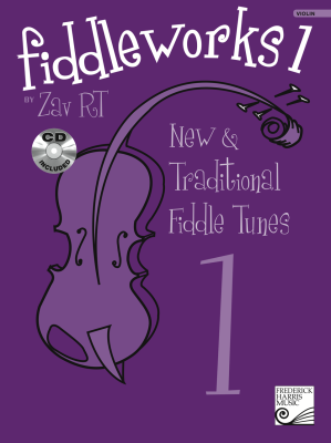 Fiddleworks 1 - RT - Preparatory-ARCT Solo/Duet Violin - Book/CD