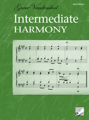 Intermediate Harmony, 2nd Edition - Vandendool - Book