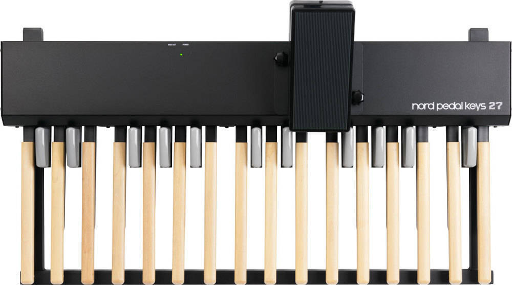 nord pedal unit for c2 organ w 27 keys long mcquade musical instruments. Black Bedroom Furniture Sets. Home Design Ideas