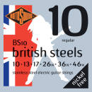 Rotosound - British Steel Electric Guitar Strings 10-46