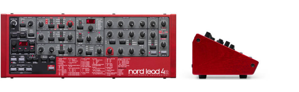 nord lead 4 tabletop rack synth long mcquade musical instruments. Black Bedroom Furniture Sets. Home Design Ideas
