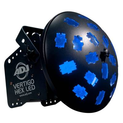 12W 6-IN-1 RGBCAW Moving/Strobe Light