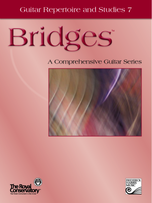 Bridges Guitar Repertoire and Etudes 7 - Book