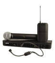 Shure - BLX1288/P31 Dual-Channel Combo Wireless System