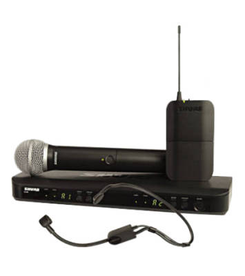 BLX1288/P31 Dual-Channel Combo Wireless System