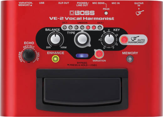 Vocal Harmonist Pedal