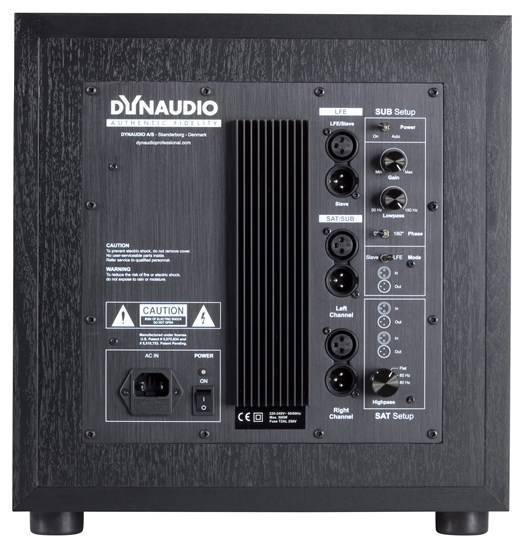 Dynaudio Studio Subwoofer Powered Studio Subwoofer