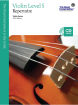 Frederick Harris Music Company - RCM Violin Level 5 Repertoire - Violin Series 2013 Edition - Book/CD