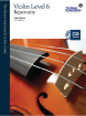 Frederick Harris Music Company - RCM Violin Level 6 Repertoire - Violin Series 2013 Edition - Book/CD