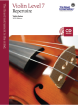 Frederick Harris Music Company - RCM Violin Level 7 Repertoire - Violin Series 2013 Edition - Book/CD