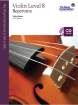 Frederick Harris Music Company - RCM Violin Level 8 Repertoire - Violin Series 2013 Edition - Book/CD
