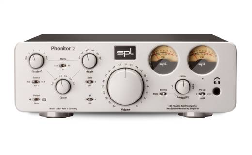 Headphone Monitoring Amplifier - Silver