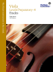 Frederick Harris Music Company - RCM Viola Etudes Preparatory- Level 4 - Viola Series 2013 Edition - Book