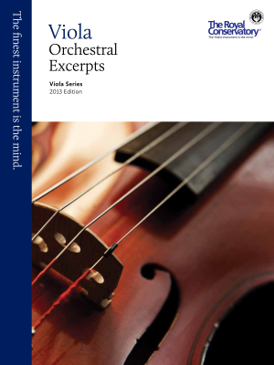 RCM Viola Orchestral Excerpts - Viola Series 2013 Edition - Book