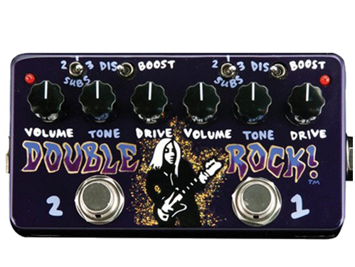 Hand Painted Double Rock Pedal