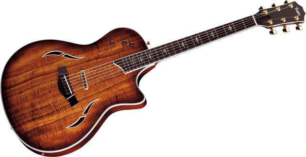 taylor guitars t5 custom acoustic electric hybrid long mcquade musical instruments. Black Bedroom Furniture Sets. Home Design Ideas