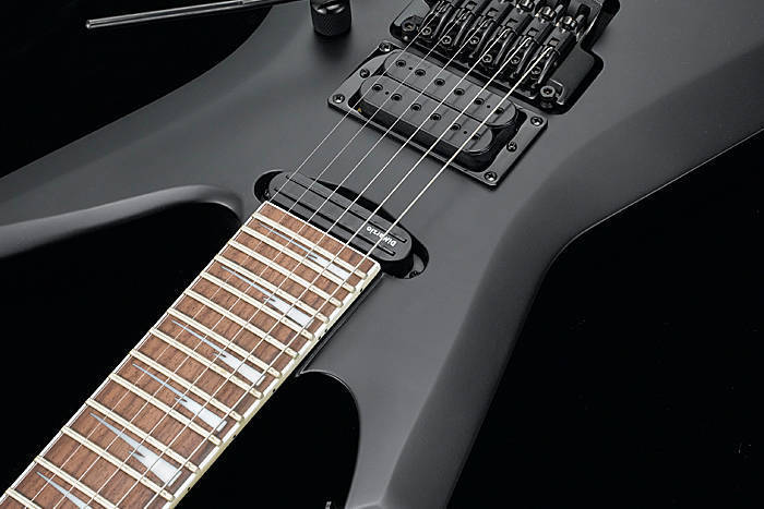 Ibanez Xiphos Electric Guitar - Flat Black - Long ...
