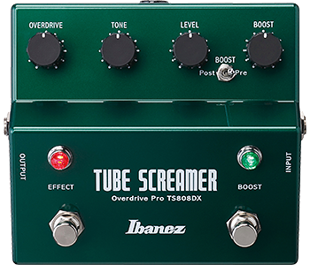 Ibanez - Tubescreamer Deluxe OD+Boost