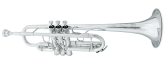 Jupiter - 1624S - XO Professional C Trumpet - Silver Plated