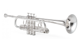 XO Professional Brass - 1624S Professional C Trumpet - Silver Plated