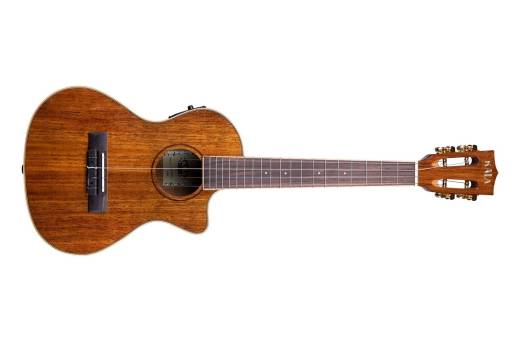 Hawaiian Koa Concert Acoustic/Electric Ukulele w/EQ